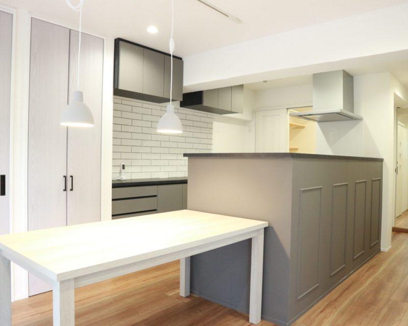 施工事例「素敵なグレー空間の家。」